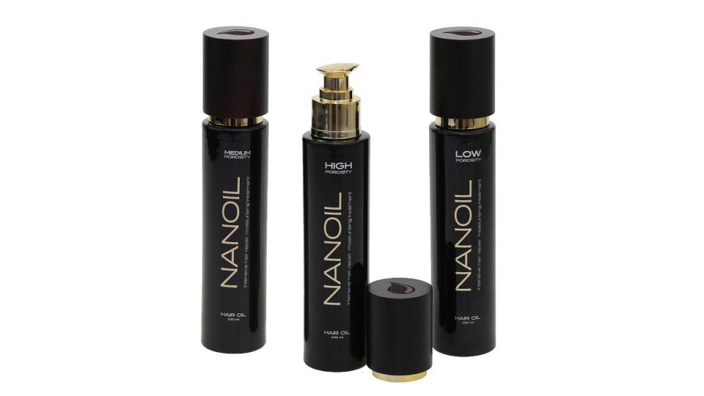 Nanoil Hair Oil with natural oils